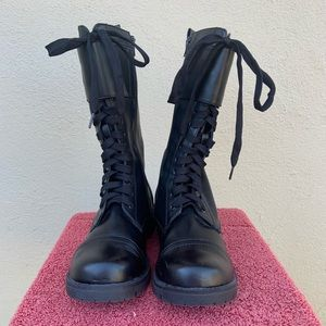 Vegan Volatile combat boots